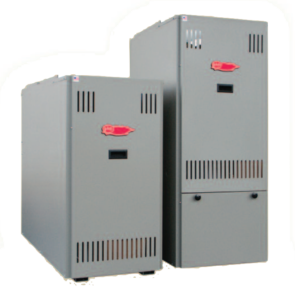 Barney barker oil carries the EFM Warm Air Furnace