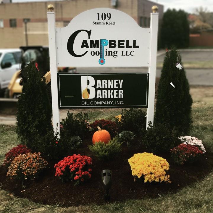 Barney Barker • Campbell Cooling Sign
