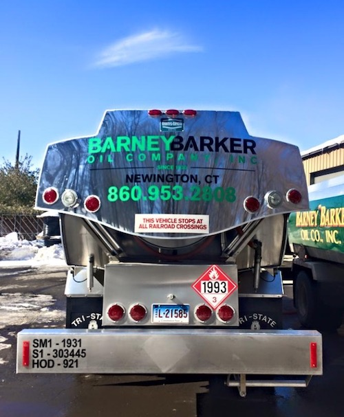 Barney Barker Oil Truck